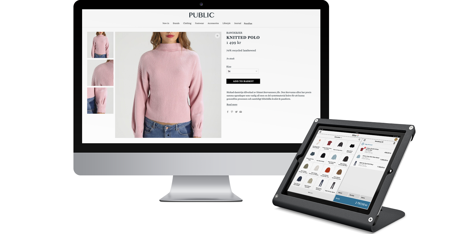 Sitoo POS med WooCommerce e-handel från Wetail