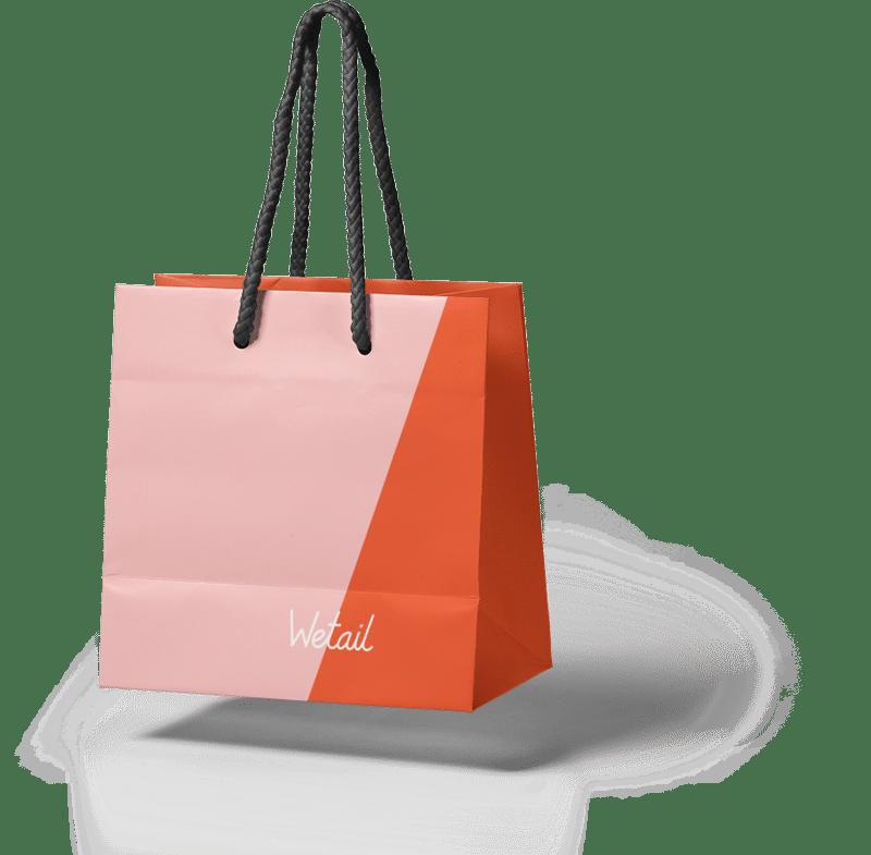 Wetail papperskasse e-handel